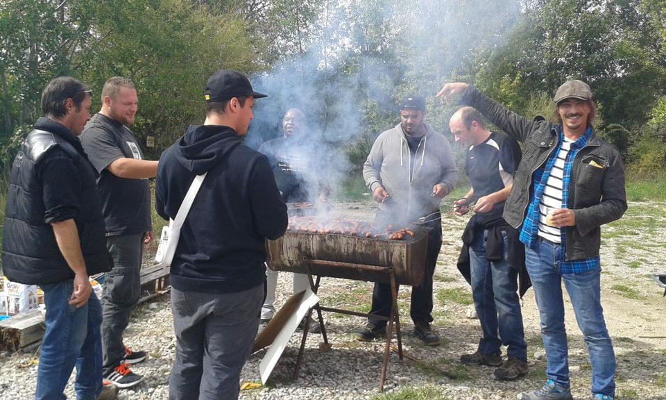 le barbecue de la petite ourse