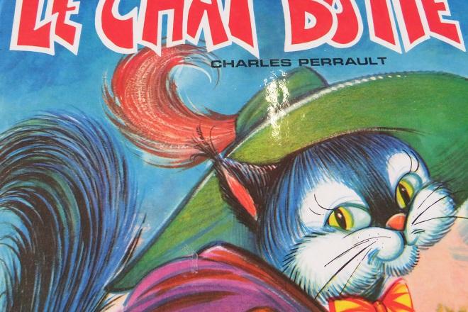 couverture illustré du chat botté