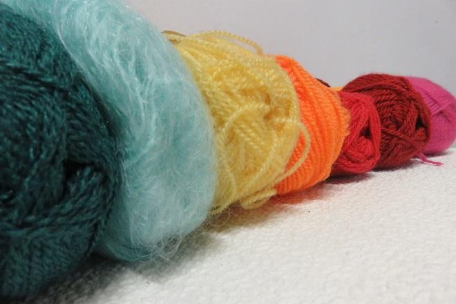 dégradé pelotte de laine