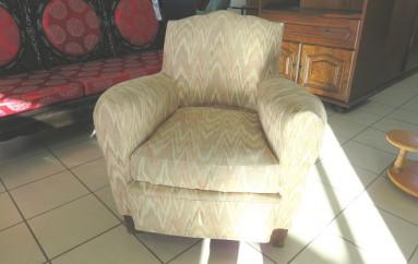 fauteuils club tapissé